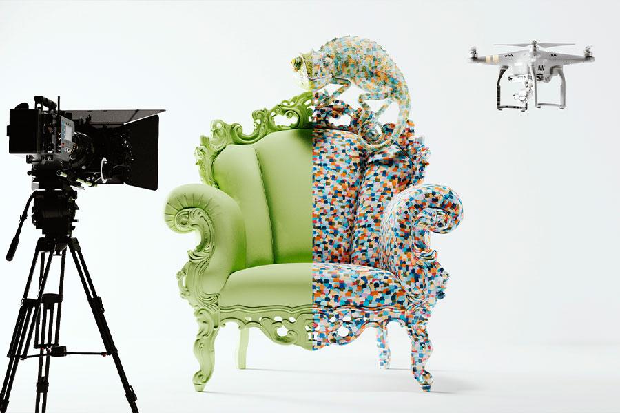 広告ビジュアル事例画像