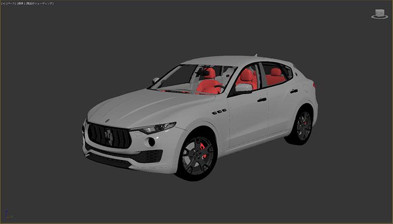 自動車3DCGモデル