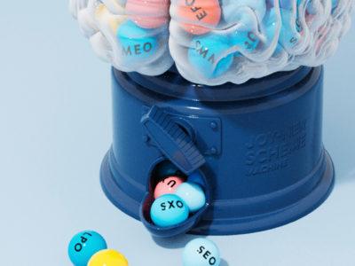 webコンテンツ用キャンディーマシンのCG