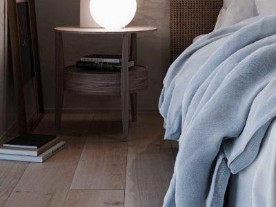 ベッドルームと照明のCG サムネイル